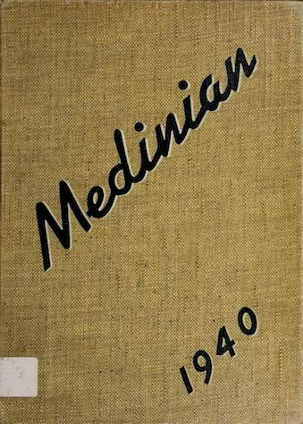 1940 yearbook cover