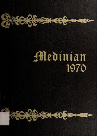 1970 yearbook cover