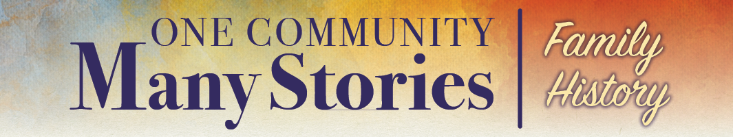 header for One Community, Many Stories