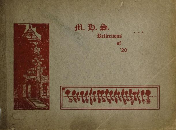 1920 yearbook cover